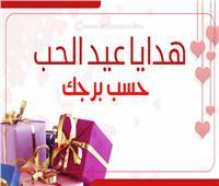 إنفوجراف| هدايا عيد الحب حسب برجك