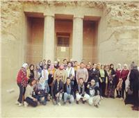 المنيا تستقبل الفوج الخامس لرحلات «اعرف بلدك»
