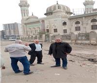 رئيس حي شرق شبرا الخيمة يكلف برفع 700 طن مخلفات من الشوارع