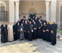 انطلاق اللقاء الشهرى لكهنة الإيبارشية البطريركية