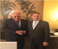 شكري يعقد لقاءً مع وزير خارجية سلوفينيا على هامش مؤتمر ميونخ للأمن