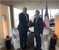 وزير الخارجية يلتقي نظيره الكويتي على هامش فعاليات مؤتمر ميونخ للأمن