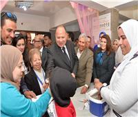 بدء أعمال حملة التطعيم ضد شلل الأطفال بمشاركة 2434 فرقة بأسيوط
