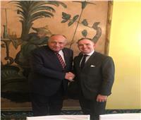 على هامش مؤتمر ميونخ للأمن.. «شكري» يلتقي مستشار الأمن القومي البريطاني