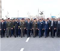 صور| السيسي يتقدم الجنازة العسكرية للفريق أحمد نصر قائد القوات الجوية الأسبق