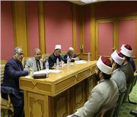 «البحوث الإسلامية» يعقد مقابلات شخصية لاختيار وعاظ الأزهر لبعثات رمضان
