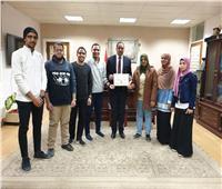 جامعة سوهاج تحصد المركز الثاني بملتقى فروع الجمعية العلمية لطلاب التمريض
