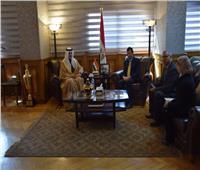 وزير الشباب والرياضة يبحث التعاون الثنائي مع سفير البحرين بالقاهرة