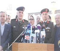 «زايد»: منظمة الصحة أمدت مصر بكواشف فيروس كورونا.. ولاداعي من ارتداء الكمامات