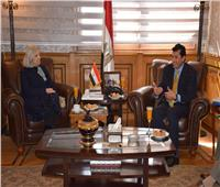 وزير الشباب والرياضة يستقبل الأمين العام المساعد لجامعة الدول العربية