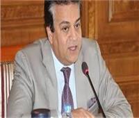 عبد الغفار يستعرض تقريرًا حول مشاركة منتخب الوزارة في فعاليات أسبوع فتيات الجامعات