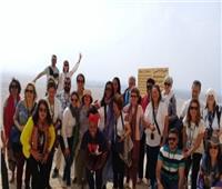 المناطق الأثرية بالمنيا تستقبل وفداً سياحيا من البرازيل