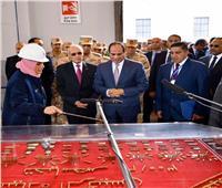 الرئيس السيسي يفتتح مصنعا جديدا لصناعات الذخائر والأسلحة