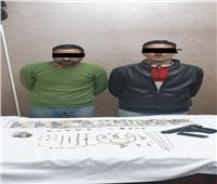 ضبط متهمين بسرقة شقة بالنميس في أسيوط