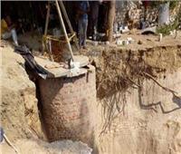 مصرع عاملين تحت الرمال بوادي النطرون