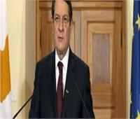 رئيس قبرص يناقش قضية الجزء المحتل من قبل تركيا فى بلاده مع مسؤولي الاتحاد الأوروبي
