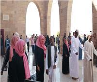 عروض لفرقة السودان للفنون الشعبية بمتحف النيل في أسوان