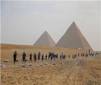 بحضور عدد منالسفراء الأجانب.. انطلاق ماراثون الأهرامات لتنشيط السياحة