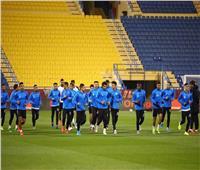 السوبر المصري| رباعي مجلس إدارة الزمالك يؤازرون الفريق في التدريبات