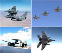القوات الجوية المصرية والفرنسية تنفذان تدريبا عابرا بمشاركة «شارل ديجول»