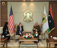 «حفتر» للسفير الأمريكي بليبيا: طرد مرتزقة تركيا من بلادنا أحد ثوابت الجيش
