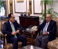 رئيس الوزراء يبحث مع السفير الكويتى تعزيز التعاون الثنائي
