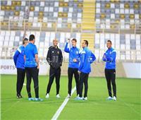 صور| الأهلي ينهي مرانه على ملعب نادي الوحدة الإماراتي