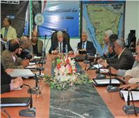 فوده يتابع موقف المشروعات المقامة على أرض محافظة جنوب سيناء