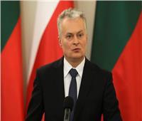 الرئيس الليتواني يعرب عن تقديره لمصر في مكافحة الإرهاب