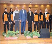 وزير الرياضة يُكرم بعثة المنتخب المصري للمصارعة