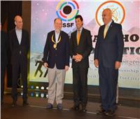 وزير الرياضة يفتتح البطولة العربية للرماية