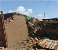 إزالة 1342 حالة تعدي على أراضي أملاك الدولة والأراضى الزراعية بالمنوفية
