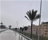سقوط أمطار على دمياط والمحافظة تعلن الطوارئ