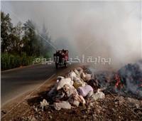 صور| طريق خط «12» يحصد أرواح أهالي القليويبة.. والمسئولون «محلك سر»!
