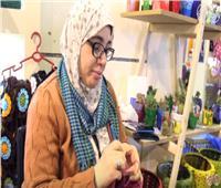 فيديو| «فاطمة وارث».. قصة فتاة قهرت قسوة الحياة بـ«الكروشيه»