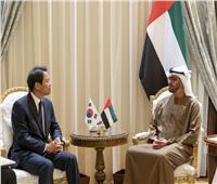 ولي عهد أبو ظبي يلتقي مبعوث الرئيس الكوري الجنوبي