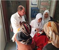 انتهاء اليوم الأخير من الحملة القومية للتطعيم ضد مرض شلل الأطفال بنسبة نجاج ٩٩َ.٨٪