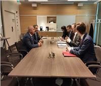 """""""الوزير"""" يبحث مع وزير البنية التحتية السويدي التعاون في سلامة الطرق ومشروع الحافلات السريعة BRT"""