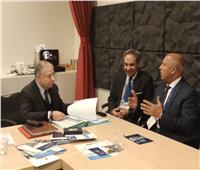 «الوزير» يبحث مع مبعوث سكرتير الأمم المتحدة تعزيز سلامة الطرق في مصر