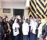 انطلاق المبادرة الرئاسية لدعم صحة المرأة بالشرقية