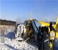 فيديو| إصابة 7 أشخاص في هبوط اضطراري لطائرة خاصة