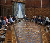 الإمام الأكبر لطلاب جامعة سيانس بو: بكم يتحقق السلام.. والأمل معقود عليكم