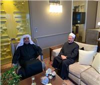 مفتي الجمهورية يستقبل الأمين العام لرابطة العالم الإسلامي في مقر إقامته بجنيف