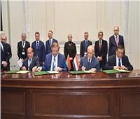 وزيرا التجارة والإنتاج الحربي يشهدان توقيع 12 اتفاقية بين مصر وبيلاروسيا