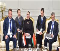 وزيرة التجارة تبحث سبل تعزيز العلاقات الاقتصادية والاستثمارية مع بيلاروسيا