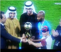 فيديو| شيكابالا يصطحب الطفل «سعد محمد» لاستلام كأس السوبر المصري