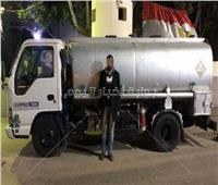 حبس سائق استولى على 8 أطنان بنزين في المرج