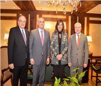وزيرة الهجرة تستقبل نائب وزير الخارجية الأرميني وترحب بعقد فعاليات ثقافية
