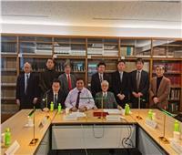 استشاري مصري بالأمن الدولي يطرح تغيرات الشرق الأوسط أمام صناع القرار باليابان