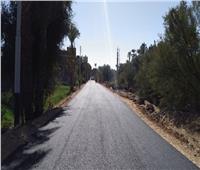 انتهاء رصف وصيانة طرق البداري بطول 2.7 كم